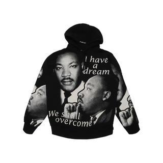 シュプリーム(Supreme)のSupreme MLK Hooded マーティンルーサーキングパーカー Mサイズ(パーカー)