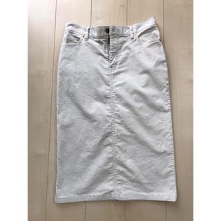 ムジルシリョウヒン(MUJI (無印良品))の無印良品 コーデュロイスカートL(ひざ丈スカート)