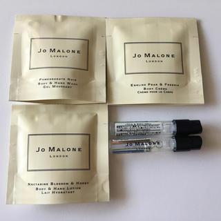 ジョーマローン(Jo Malone)のJO MALONE コロン、ボディクレームのサンプル5点セット ジョーマローン (香水(女性用))