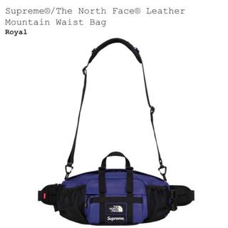 シュプリーム(Supreme)の新品 Supreme×North Face leather Waist Bag (ボディーバッグ)