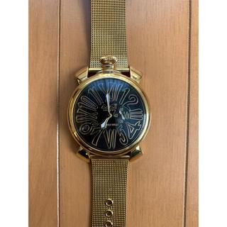 ガガミラノ(GaGa MILANO)のガガミラノ ゴールド(腕時計(アナログ))