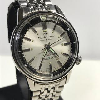 セイコー(SEIKO)のモック様専用 OH済 新品専用風防 セイコー マチック 62シルバーウェーブ(腕時計(アナログ))