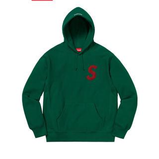 シュプリーム(Supreme)のsupreme  slogo hooded sweatshirt(パーカー)