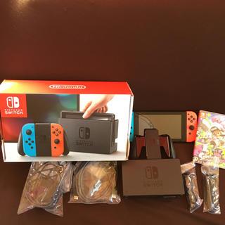 Nintendo Switch - 任天堂switch本体.スプラトゥーン2ソフト
