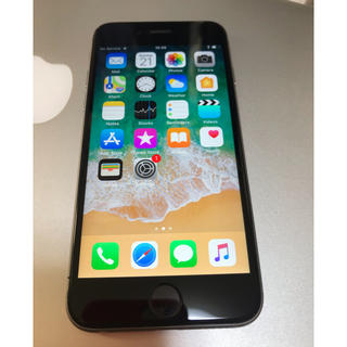 Apple - iPhone 6s 64GB space grey SIMフリー済み