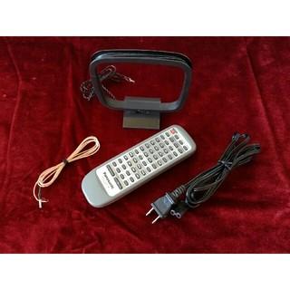 パナソニック(Panasonic)のPanasonic SC-PM30MD用 リモコン、アンテナ、電源コード(その他)