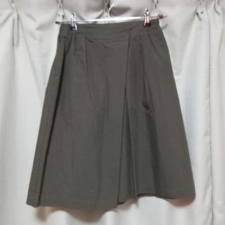 ガリャルダガランテ(GALLARDA GALANTE)のコラージュガリャルダガランテのカーキスカート(ひざ丈スカート)