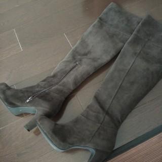 エフデ(ef-de)のエフデロングブラウンブーツ サイズL(ブーツ)