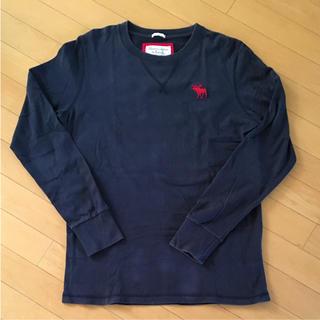アバクロンビーアンドフィッチ(Abercrombie&Fitch)のメンズ ロンT アバクロ(Tシャツ/カットソー(七分/長袖))