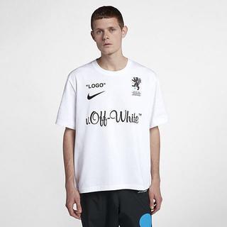 ナイキ(NIKE)の【新品送料込みL】NIKE × OFF WHITE Tシャツ(Tシャツ/カットソー(半袖/袖なし))