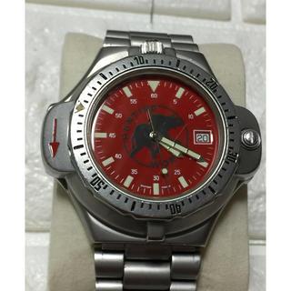 ハンティングワールド(HUNTING WORLD)のハンティングワールドコンパス赤(腕時計(アナログ))