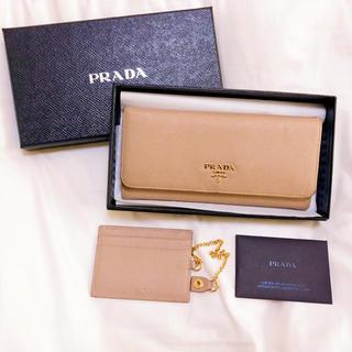 プラダ(PRADA)の良品♥︎ PRADA プラダ サフィアーノ 長財布(財布)