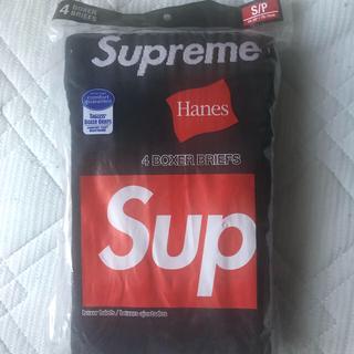 シュプリーム(Supreme)のsupreme hanes boxer briefs black 2枚(ボクサーパンツ)