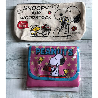 SNOOPY - スヌーピー  ポーチ セット