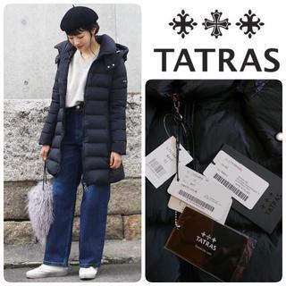 タトラス(TATRAS)の18AW 国内正規新品 TATRAS POLITEAMA ネイビー 2(ダウンコート)