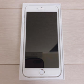 Apple - iPhone 6 Plus Silver 64 GB Softbank