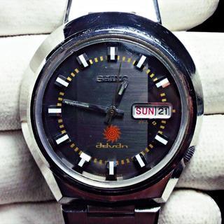セイコー(SEIKO)のSEIKO【advan】アドバン メンズ 自動巻 文字盤グレー&ブラック 25石(腕時計(アナログ))