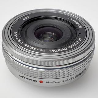 オリンパス(OLYMPUS)のM.ZUIKO DIGITAL ED 14-42mm F3.5-5.6 EZ 銀(レンズ(ズーム))