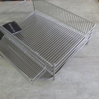 ラバーゼ 水切りかご大セット 縦置きタイプ(DLM-8585)(収納/キッチン雑貨)