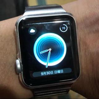 アップルウォッチ(Apple Watch)のApplewatch series2NIKE38mm オマケ付き値下!!(腕時計(デジタル))
