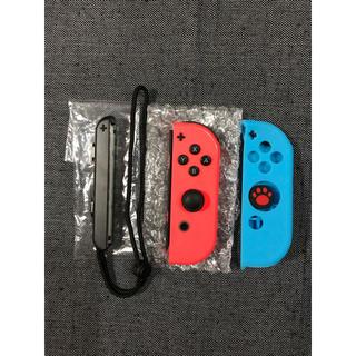 ニンテンドースイッチ(Nintendo Switch)のジョイコン ネオンレッド R側 ニンテンドースイッチ ②(その他)