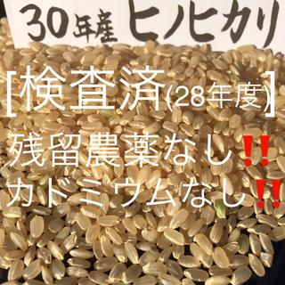 うずら卵様専用 30年産玄米15kgヒノヒカリ(米/穀物)