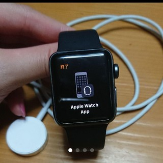 アップルウォッチ(Apple Watch)のアップルウォッチ series2(腕時計(デジタル))