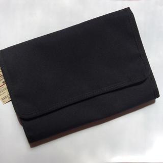 MUJI (無印良品) - タグ付新品!無印良品母子手帳入れ 黒 マルチケース