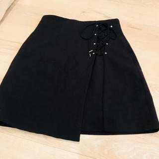 snidel - レースアップスカート