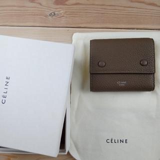 celine - セリーヌ3つ折財布