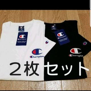 Champion - 2枚組 Champion ロゴ Tシャツ