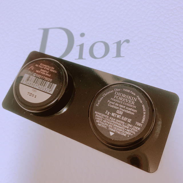 Dior - Dior*foreverクッション...