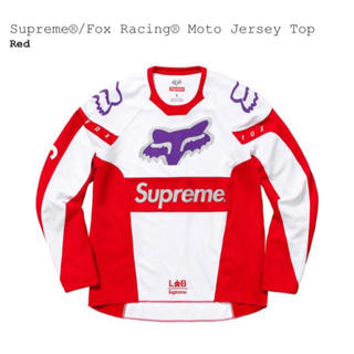 シュプリーム(Supreme)のSupreme Fox Racing Moto Jersey Top Mサイズ(Tシャツ/カットソー(七分/長袖))