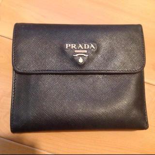 プラダ(PRADA)のPRADA サフィアーノ 三つ折り財布(財布)