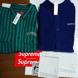 シュプリーム(Supreme)のsupreme shirt 2枚セット 新品未使用(シャツ)