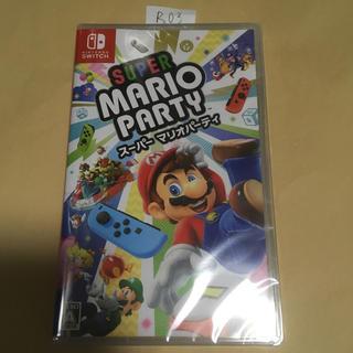 Nintendo Switch - スーパー マリオパーティ スイッチ 新品未開封 R3