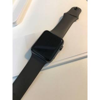 アップルウォッチ(Apple Watch)のApple Watch Series 3 GPS + Cellular 42mm(腕時計(デジタル))