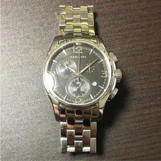 ハミルトン(Hamilton)の【美品】ハミルトン H326120 クロノグラフ(腕時計(アナログ))