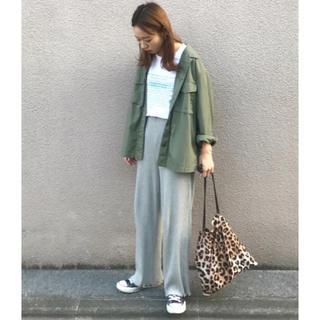 w closet - W closet ダブルクローゼット 裾メローパンツ