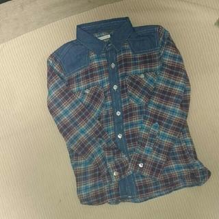 GU - GU☆チェックシャツ 130