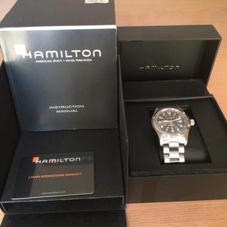 ハミルトン(Hamilton)のハミルトンカーキオートマチック(腕時計(アナログ))