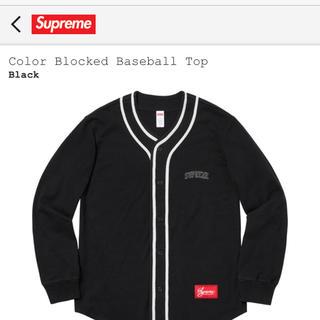 シュプリーム(Supreme)のsupreme baseball top(Tシャツ/カットソー(七分/長袖))