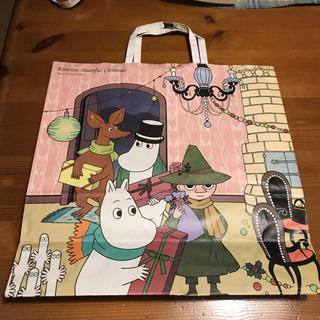ムーミン紙袋(近鉄百貨店)