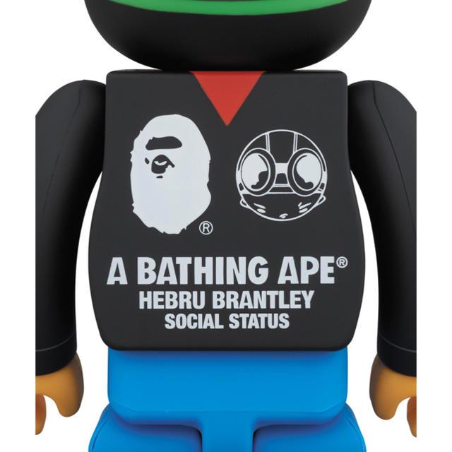A BATHING APE(アベイシングエイプ)の【新品未開封】BE@RBRICK 1000% ベアブリック BAPE エイプ エンタメ/ホビーのフィギュア(その他)の商品写真
