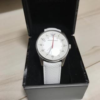 エンポリオアルマーニ(Emporio Armani)のエンポリオ アルマーニ EMPORIO ARMANI AR5862 ホワイト(腕時計(アナログ))