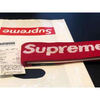 シュプリーム(Supreme)のSupreme 2018 headband Red(その他)