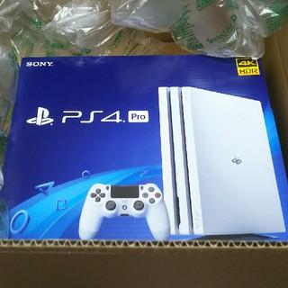 PlayStation4 - 新品PS4pro グレイシャーホワイト