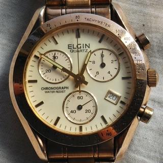 エルジン(ELGIN)のELGIN エルジン クォーツ クロノグラフ (腕時計(アナログ))