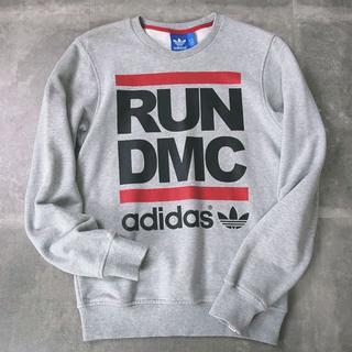 アディダス(adidas)の美品 adidas ORIGINALS RUN DMC スエット/トレーナー(スウェット)