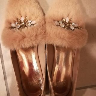 レディー(Rady)のrady ビジューファーローファー(ローファー/革靴)